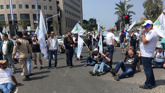 Haifa Cemicals workers strike