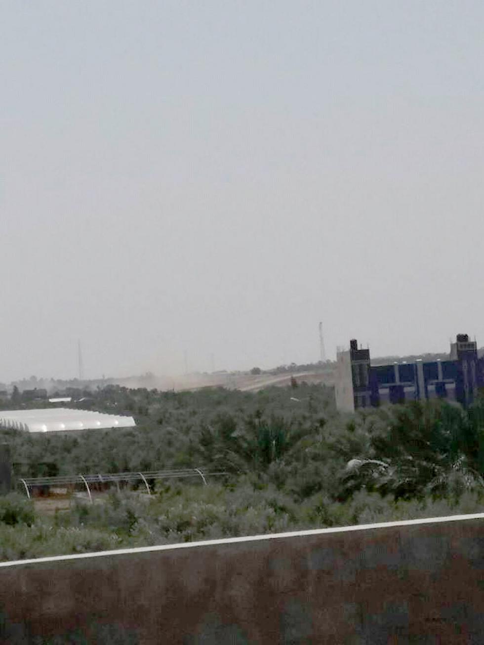 Hamas position hit by IDF tanks