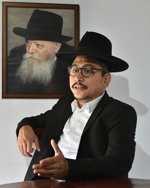 Rabbi Yaakov Baruch (Photo: AFP)