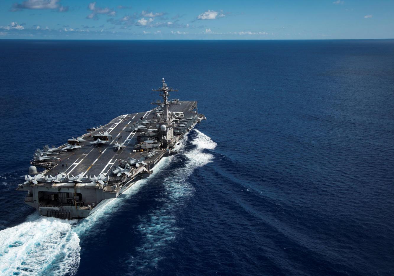 USS Carl Vinson aircraft carrier (Photo: Reuters)