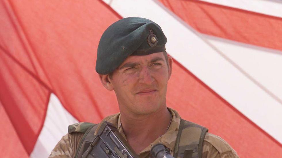אלכסנדר בלקמן בעת שירותו (צילום: Andrew Parsons/PA) (צילום: Andrew Parsons/PA)