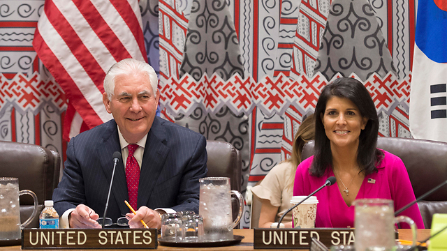 Tillerson and Haley (Photo: AP)