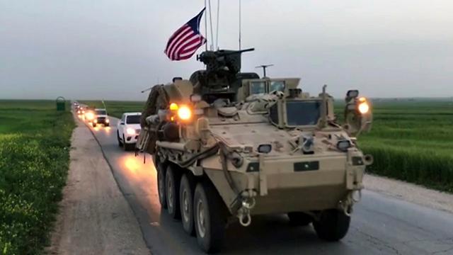 כוחות אמריקניים בסוריה, ארכיון (צילום: AP) (צילום: AP)