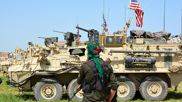 הפקירו את הכורדים. האמריקנים עוזבים (צילום: EPA) (צילום: EPA)