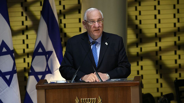 Rivlin (Photo: Ohad Zwigenberg)