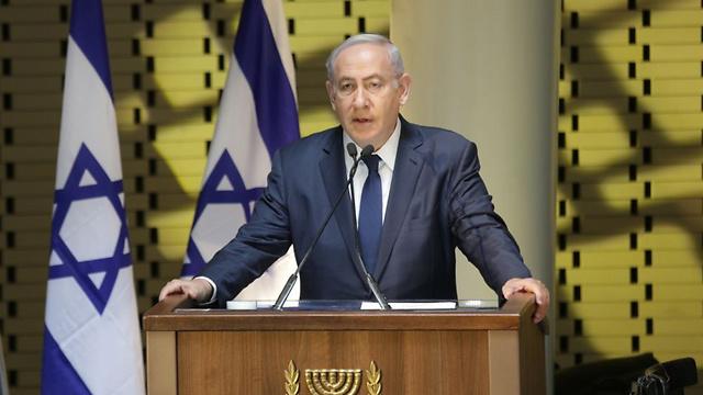 Netanyahu (Photo: Hillel Meir/TPS)