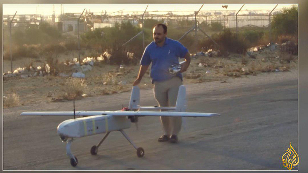 Al-Zawahri testing drones