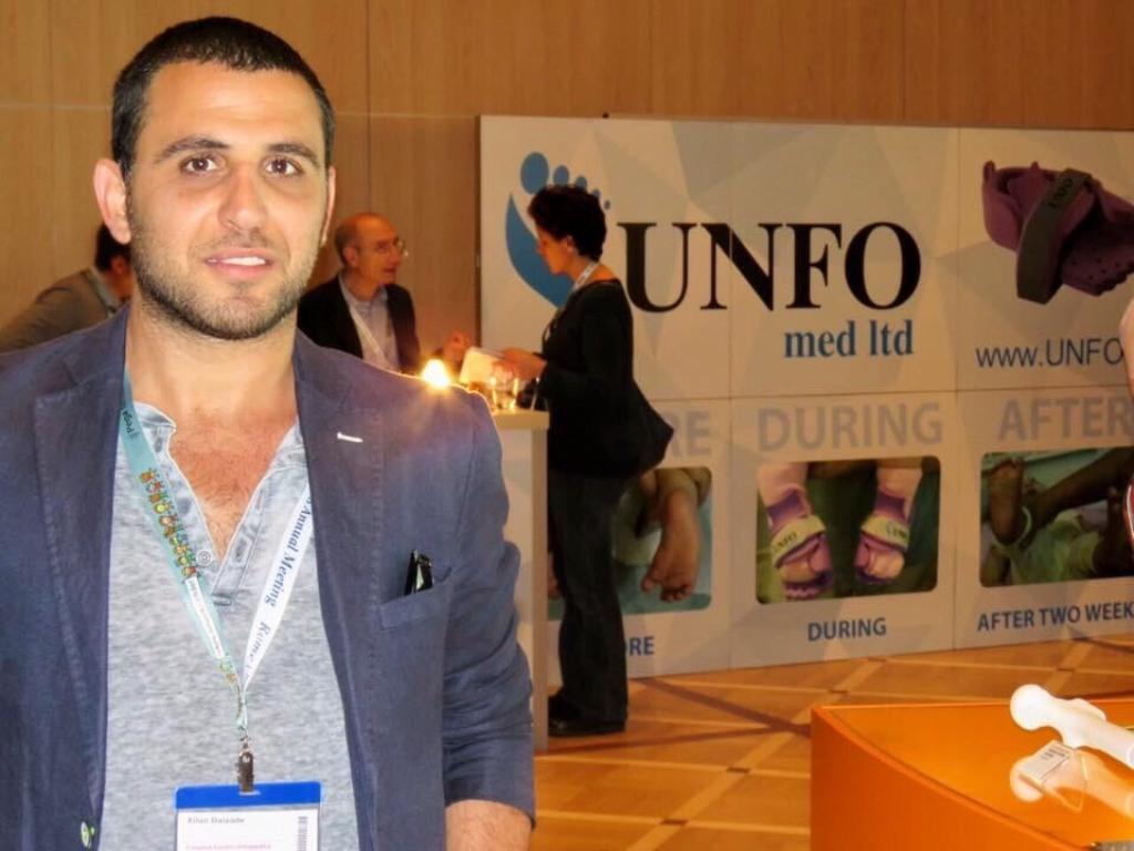 Eilon Diazade, CEO of UNFO Med Ltd.