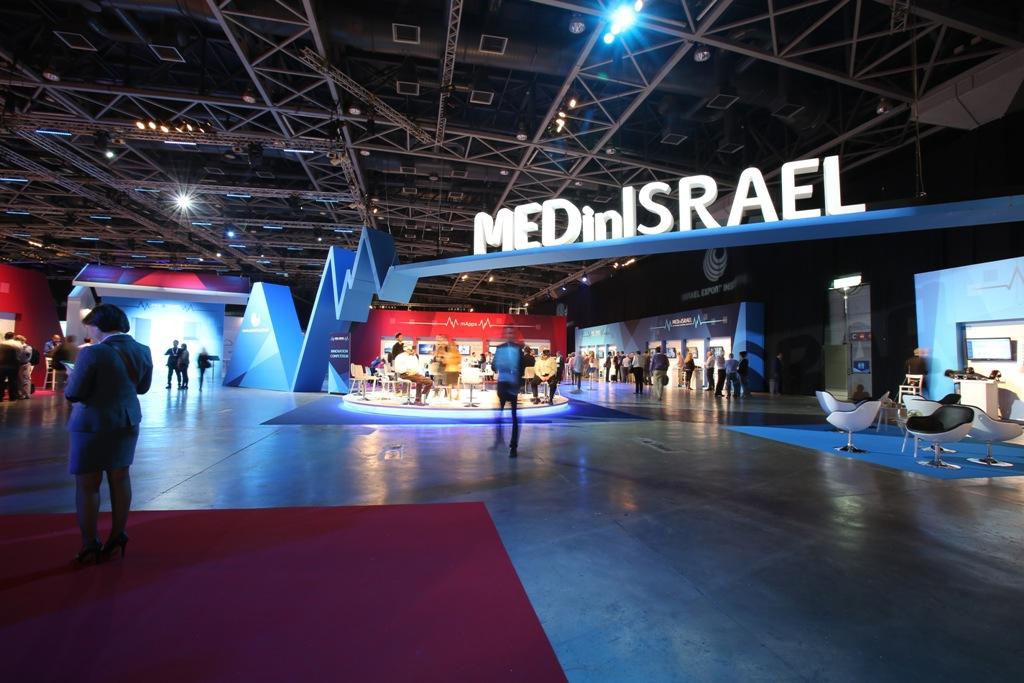 MEDinISRAEL exhibition (Photo: Pashut Photography)