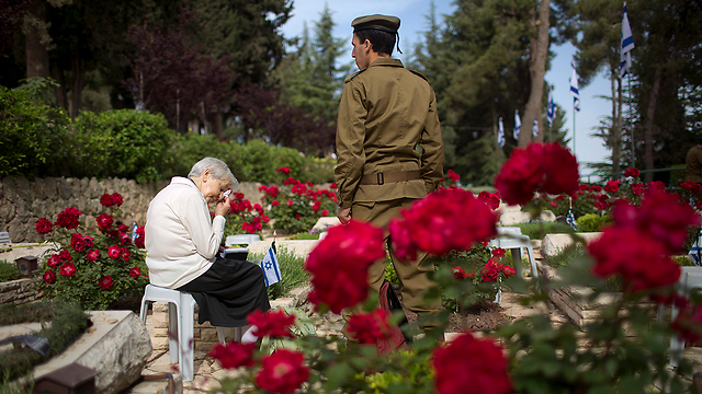 День памяти павших в войнах Израиля. Фото: AP