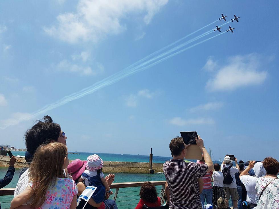 Fly over Tel Aviv (Photo: Noa Glickstein-Keren)
