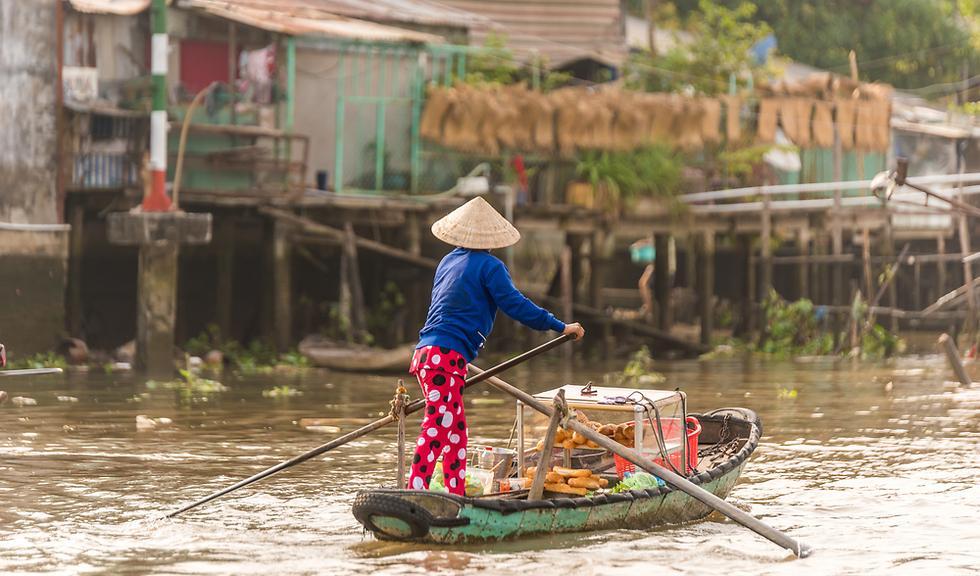 נהר המקונג (צילום: Shutterstock) (צילום: Shutterstock)