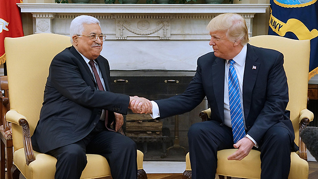 Abbas and Trump (Photo: AFP) (Photo: AFP)