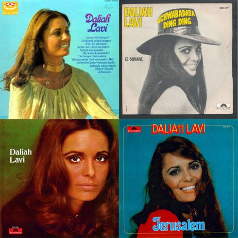 """בשנות ה-60 התפתחה בחו""""ל גם קריירת השירה של לביא"""