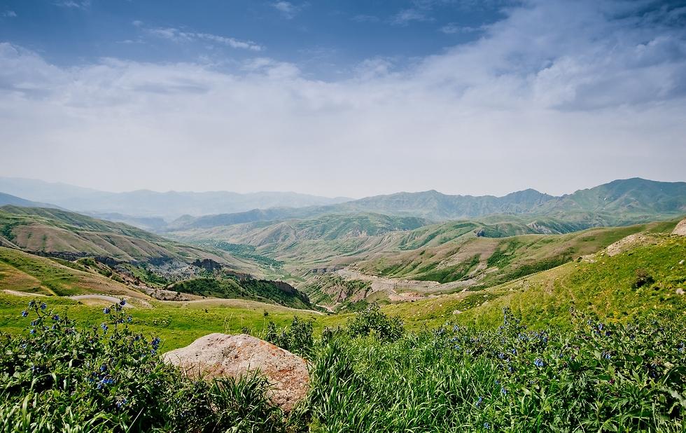 הדרכים היפות של ארמניה (צילום: איה בן עזרי) (צילום: איה בן עזרי)