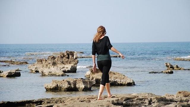 חוף ג'סר א-זרקא (צילום: עמותת כרמלים)