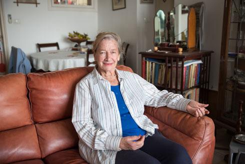 ג'יליאן קיי עלתה לכאן מדרום אפריקה (צילום: דור נבו)