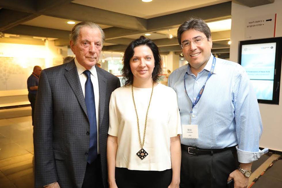 אריק גולדשטיין, אירינה נבזלין ואיתמר רבינוביץ (צילום: רפי דלויה) (צילום: רפי דלויה)