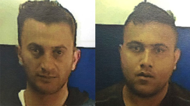 Two of the suspects in the terror cell (Photo: Shin Bet)