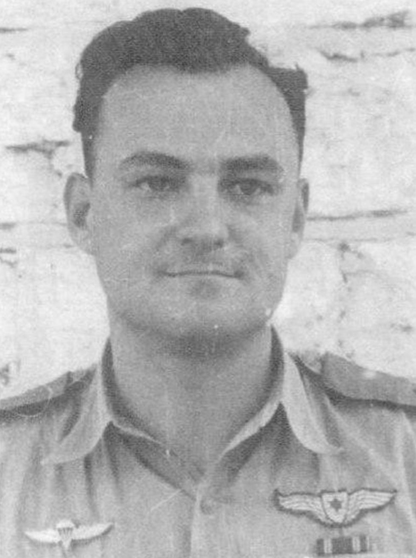 מוותיקי טייסי חיל האוויר. יהודה ארבל בתקופת שירותי הצבאי (באדיבות המשפחה) (באדיבות המשפחה)