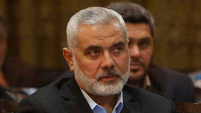 Hamas chief Ismail Haniyeh (Photo: AP) (Photo: AP)