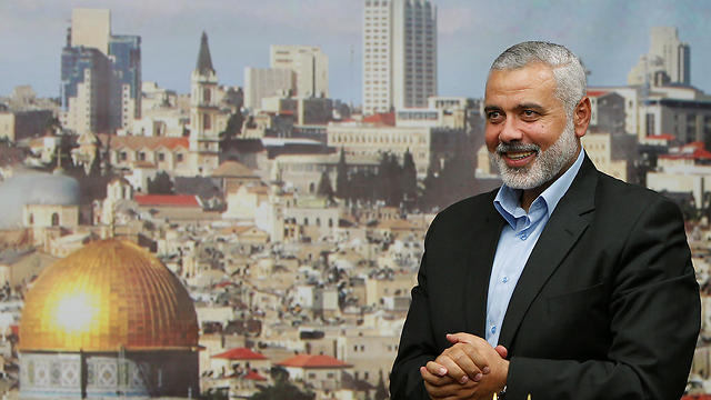Ismail Haniyeh, new-old leader of Hamas (Photo: Reuters) (Reuters)