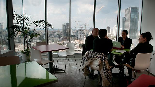 קמפוס גוגל ישראל. ארכיון (צילום: ירון ברנר) (צילום: ירון ברנר)