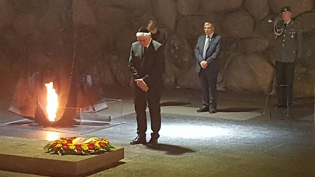 Steinmeier at Yad Vashem