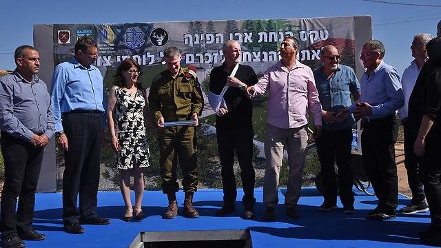 The ceremony (Photo: Avihu Shapira)