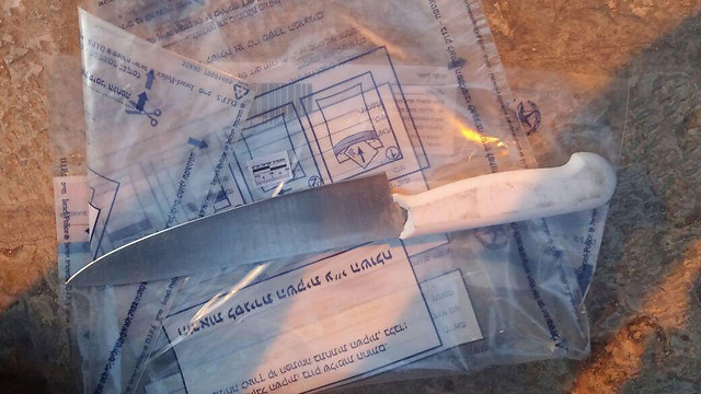 Knife used in the attempted attack (Photo: Police Spokesperson's Unit)