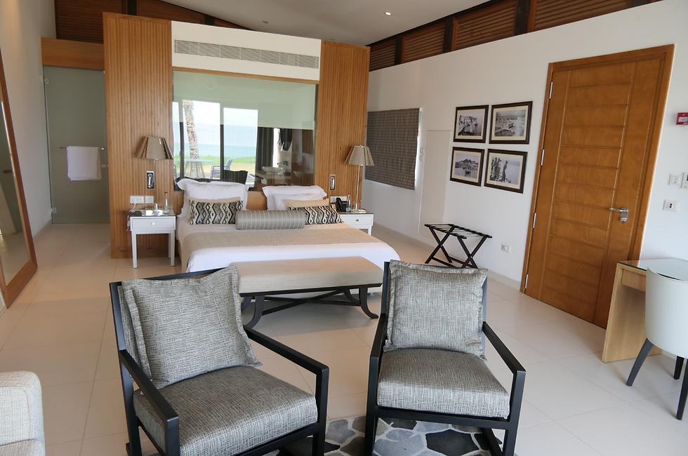 סוויטה במלון (צילום: דני שדה)