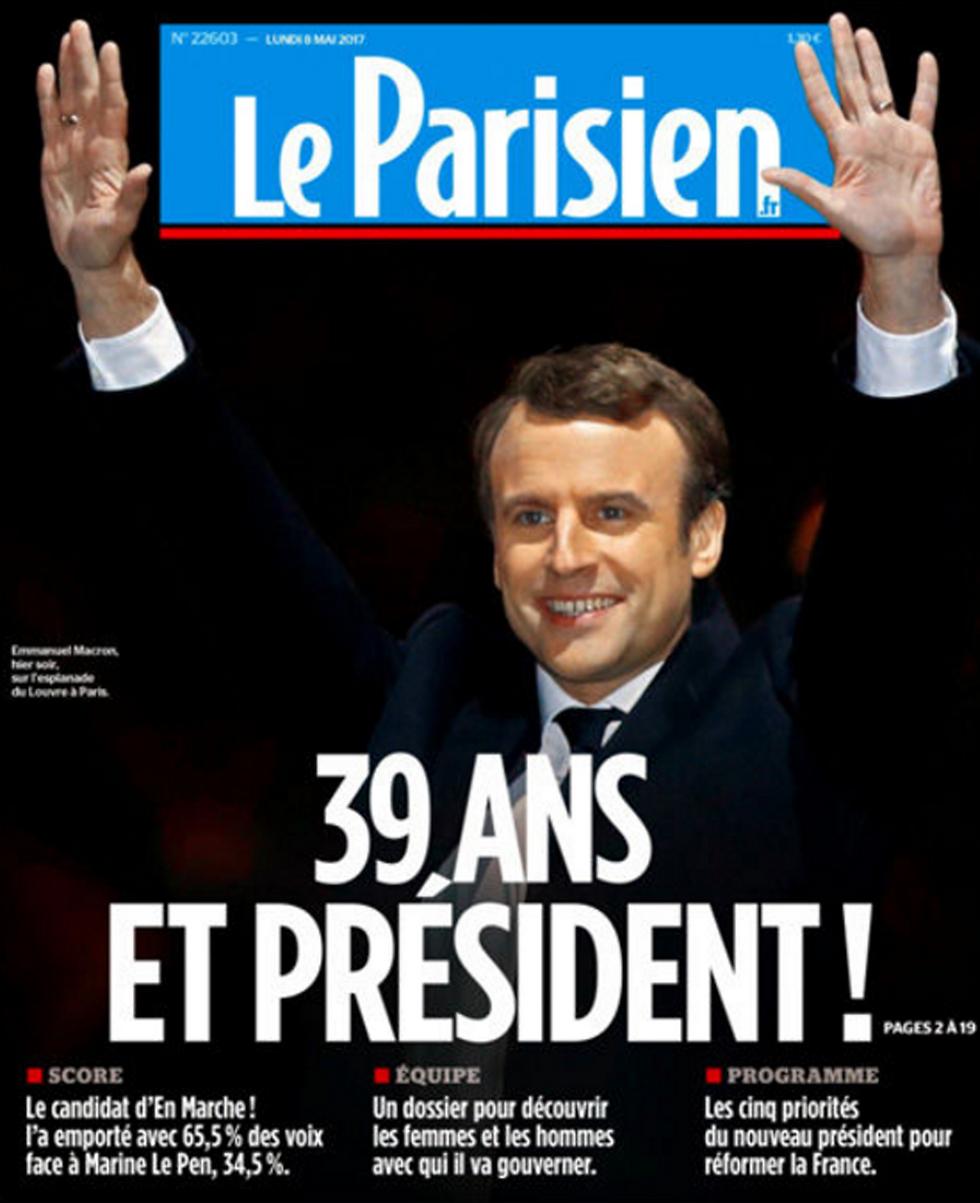 לה פריזיאן: בן 39 ונשיא!