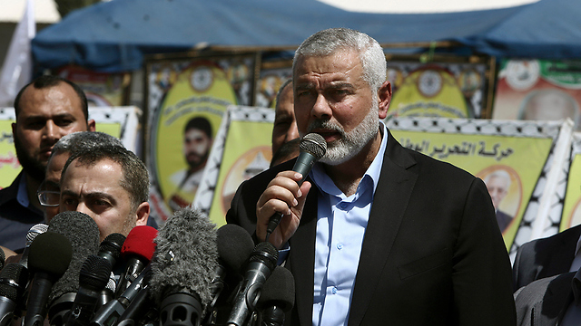 Hamas Leader Ismail Haniyeh (Photo: AP)