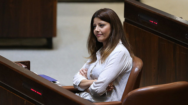 Orly Levy-Abekasis. Needs a security figure (Photo: Amit Shabi)