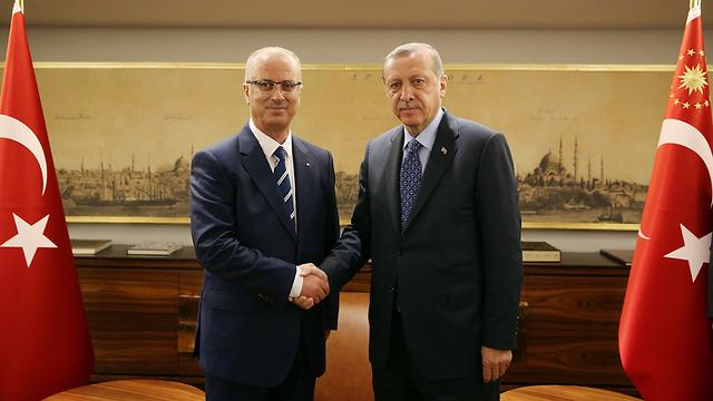 President Erdoğan and Prime Minister Rami Hamdallah