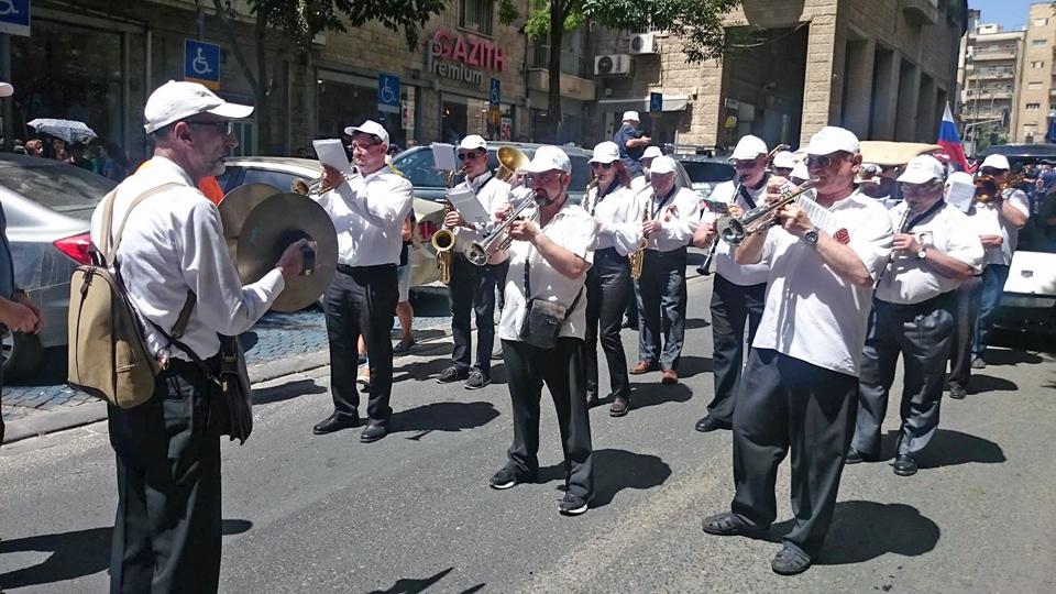Парад в Иерусалиме. Фото: Григорий Рейхман