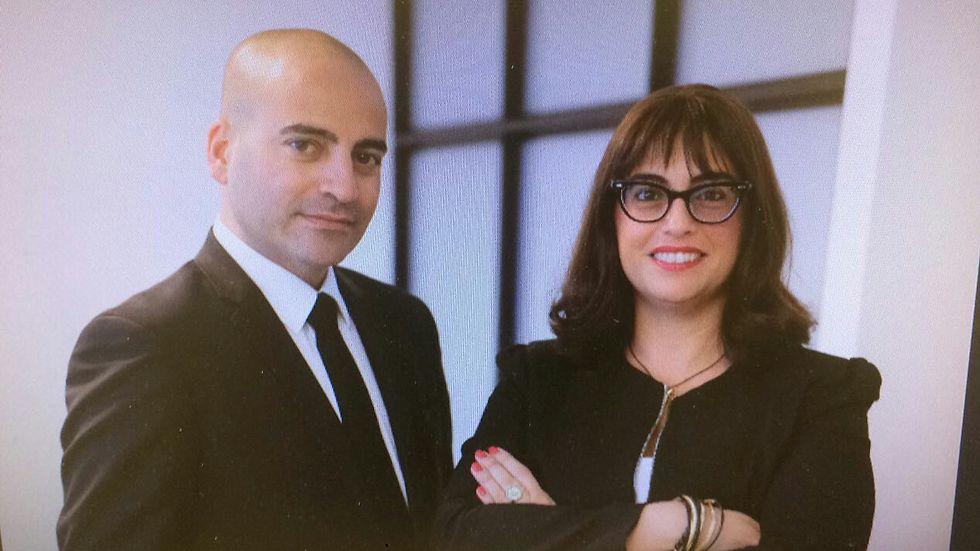 זנו וקרן. עורכי הדין של רובינסקי (צילום: אור קפלן) (צילום: אור קפלן)