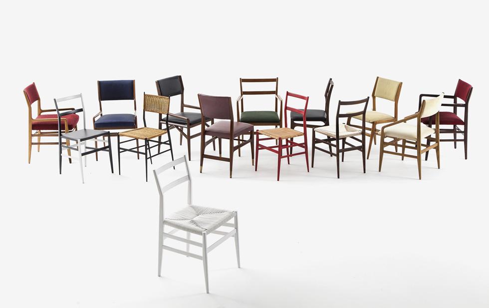מנגד עומדת Cassina, שייצרה בשנות ה-50 רבים מרהיטיו של פונטי, כולל את הכיסא שבתמונה, הלג'רה (קל), שהפך ללהיט גדול. קסינה טוענת שזכויות היוצרים על הכורסה שייכות לה, שכן היא הייתה היצרנית המקורית (צילום: באדיבות טולמנ'ס)