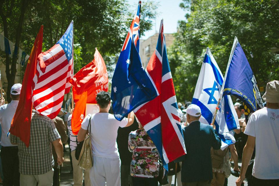 Парад в Иерусалиме. Фото: Катерина Лескин