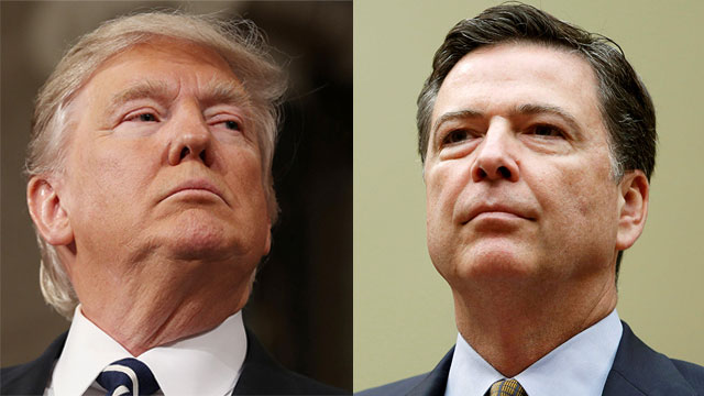 Trump and Comey (Photo: Reuters) (Photo: Reuters)
