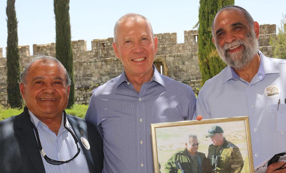 הרצל בן ארי יואב גלנט נחצ'ה גלבוע (צילום: ששון תירם)