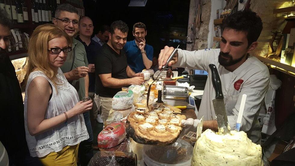 אנשי עסקים מטורקיה בירושלים