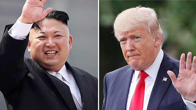 US President Donald Trump (R) and North Korean leader Kim Jong Un (Photo: AP) (Photo: AP)
