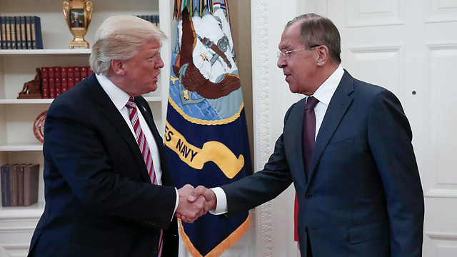 Trump and Lavrov (Photo: EPA) (Photo: EPA)