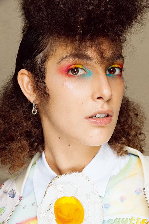 בתצוגה של מאניש ארורה בשבוע האופנה פריז: איפור של M.A.C בהשראת חד קרן