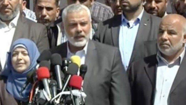 Haniyeh's press conference