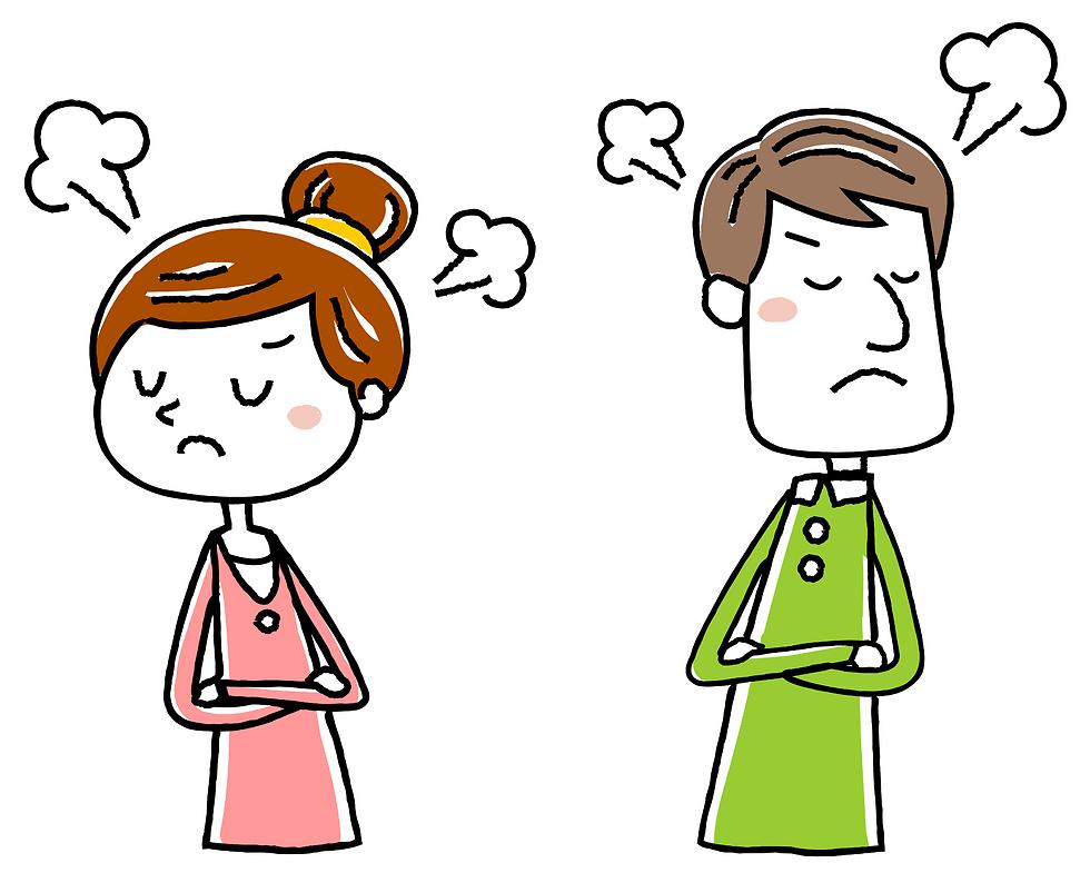 שימו לב שכל דבר שלילי שיקרה ביניכם, רק יוסיף שמן למדורה (צילום: Shutterstock)