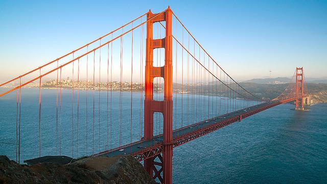 גדר תציל חיים. סן פרנסיסקו (צילום: shutterstock) (צילום: shutterstock)