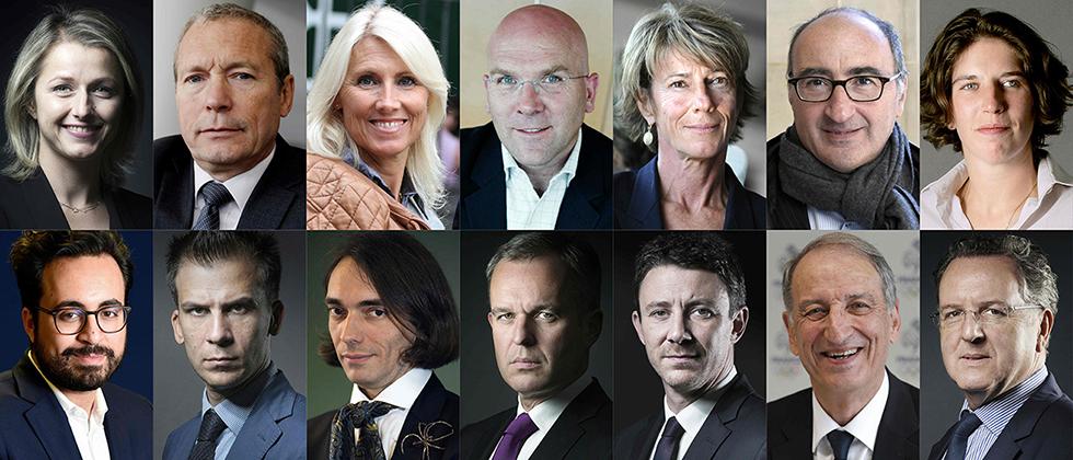מקרון מציג: מועמדים לפרלמנט  (צילום: AFP)