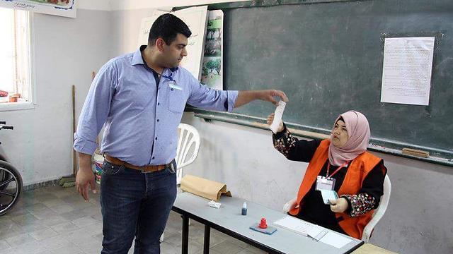 קלפי ברשות הפלסטינית, 2017 ()